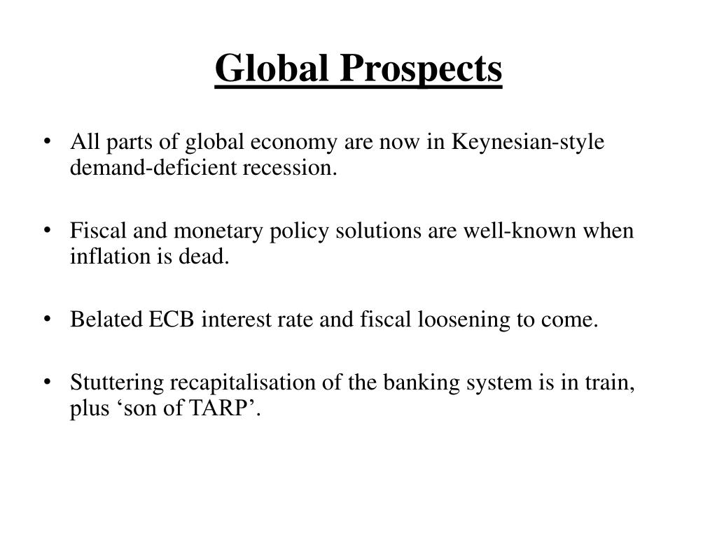 Global Prospects