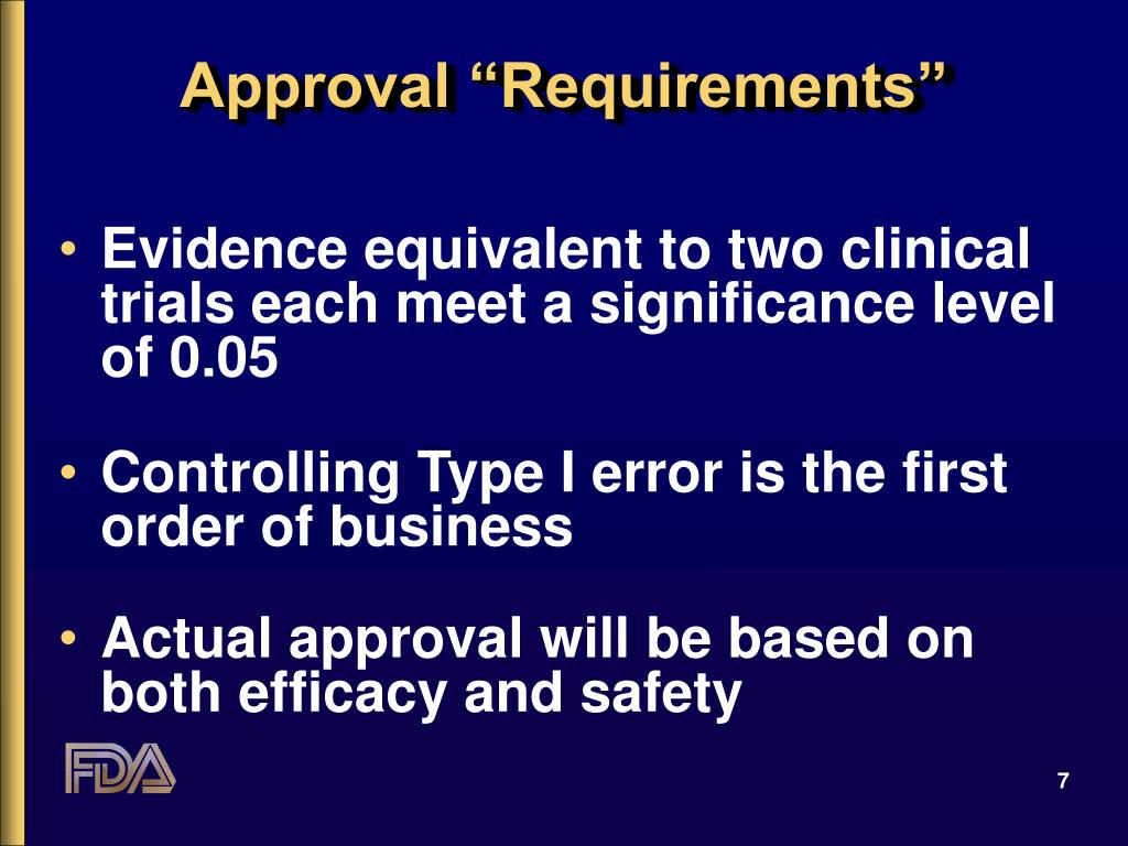 """Approval """"Requirements"""""""