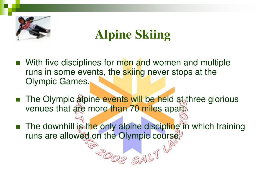 Alpine Skiing