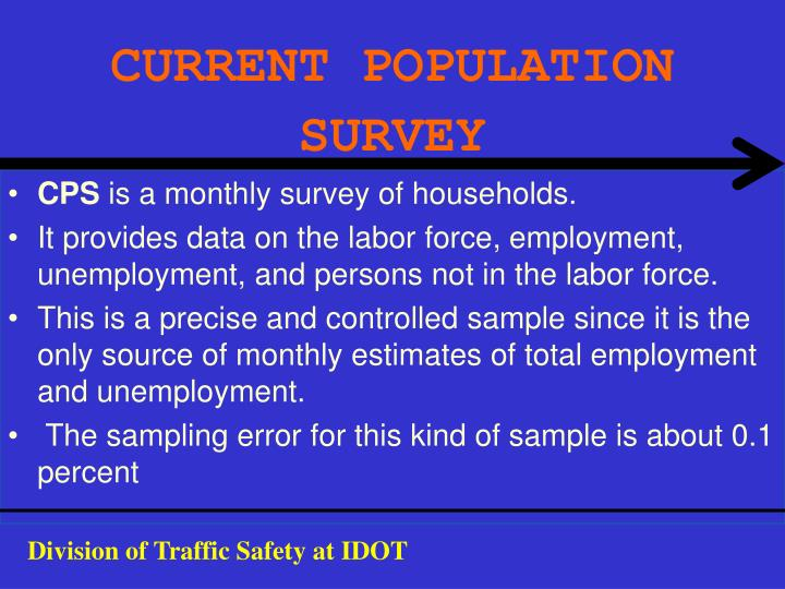 Current population survey