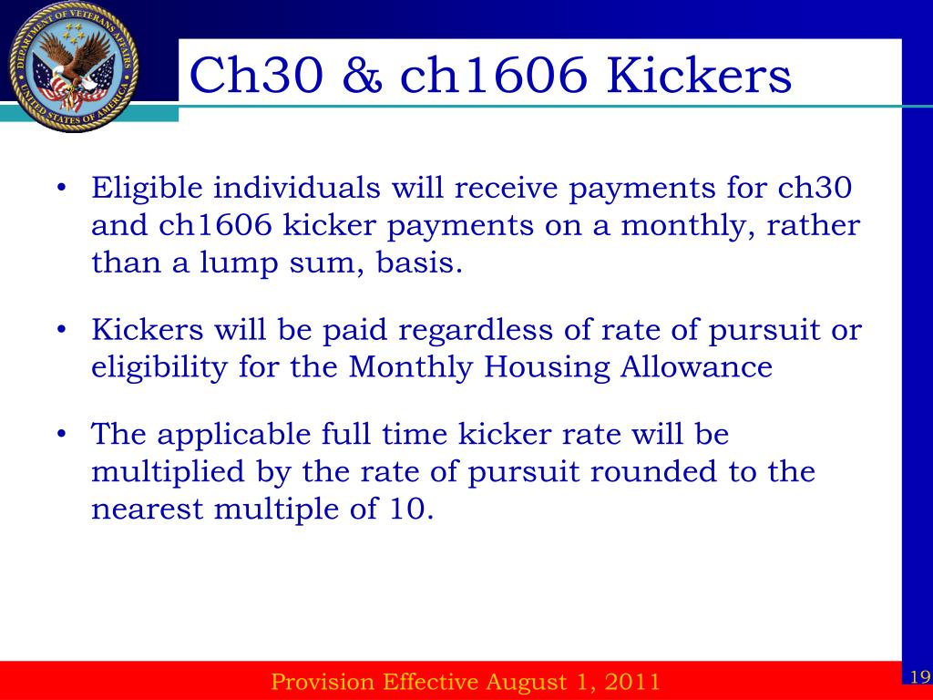 Ch30 & ch1606 Kickers