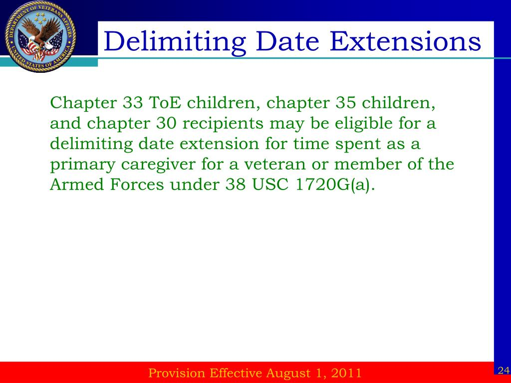 Delimiting Date Extensions