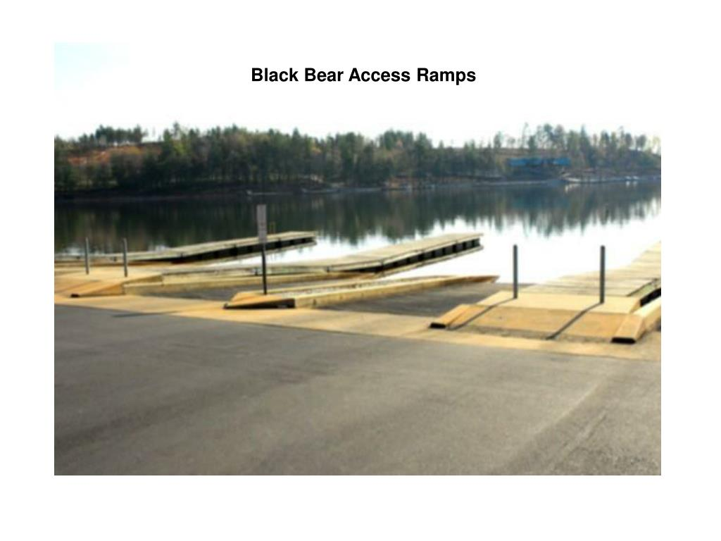 Black Bear Access Ramps