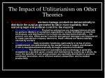 the impact of utilitarianism on other theories12
