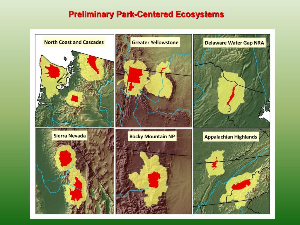 Preliminary Park-Centered Ecosystems