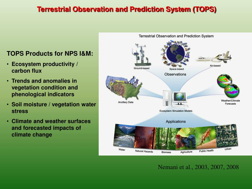 Terrestrial Observation and Prediction System (TOPS)