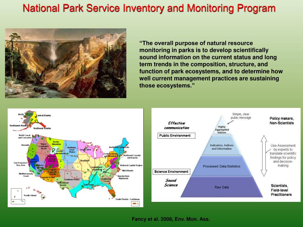National Park Service Inventory and Monitoring Program