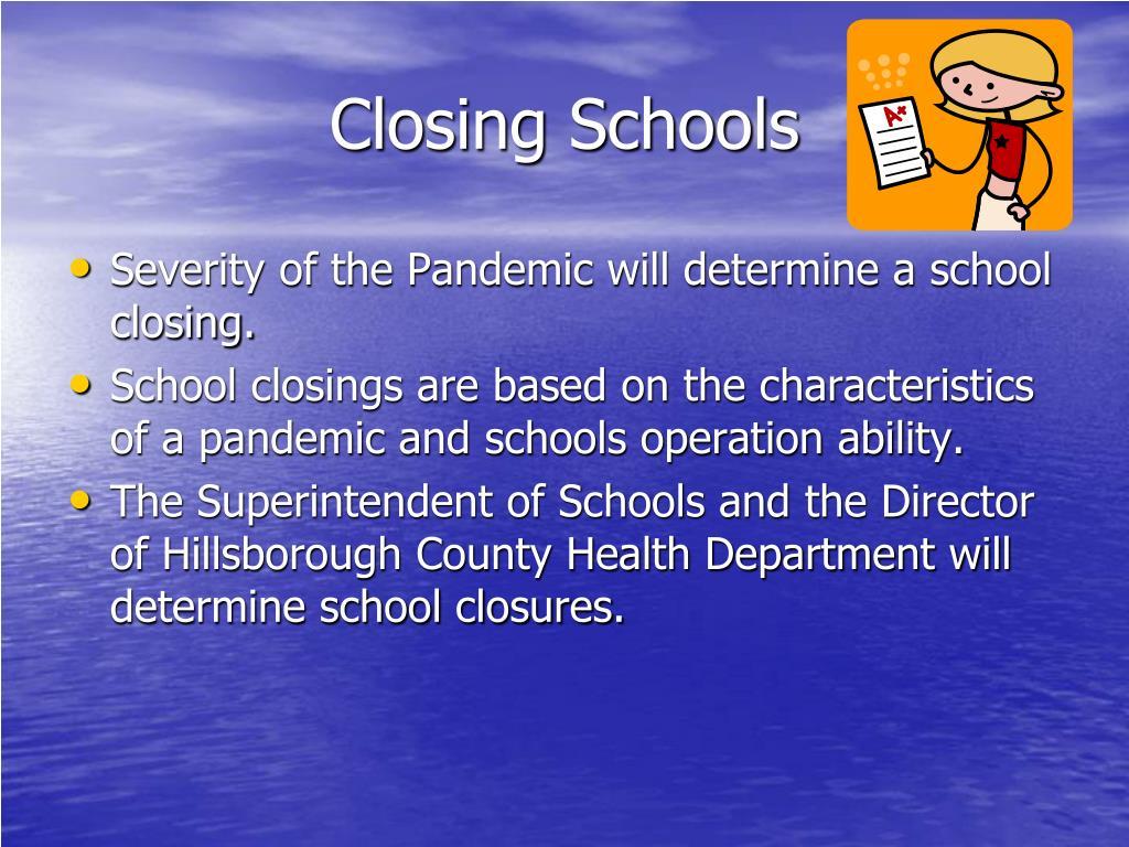 Closing Schools