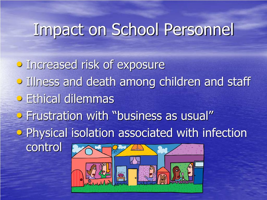 Impact on School Personnel
