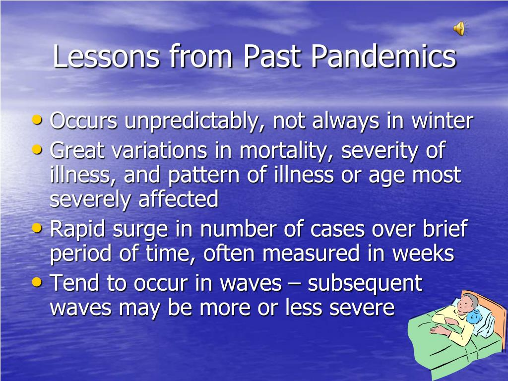 Lessons from Past Pandemics