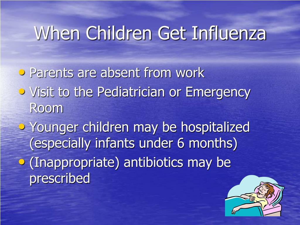 When Children Get Influenza