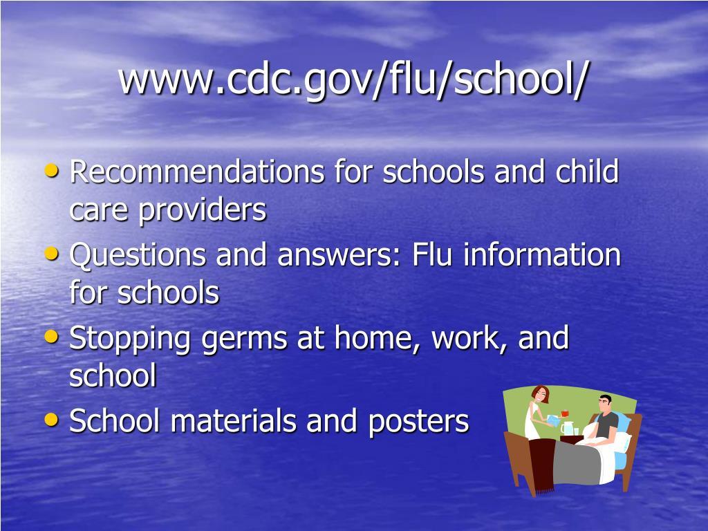 www.cdc.gov/flu/school/