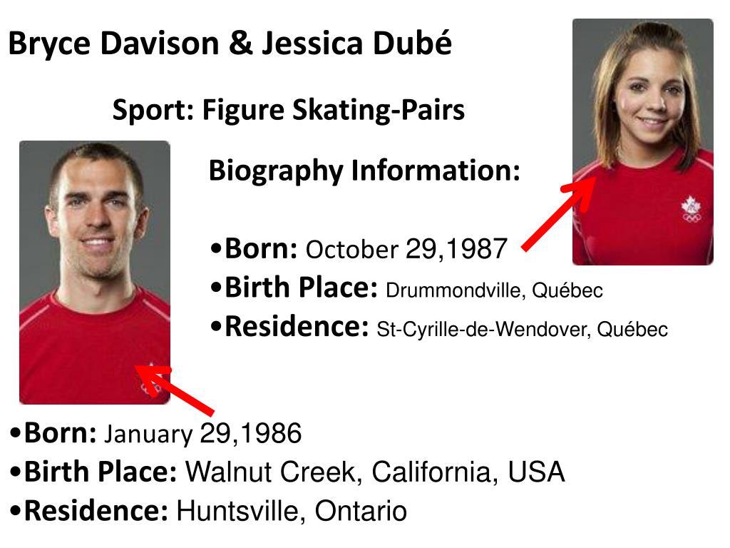 Bryce Davison & Jessica Dubé