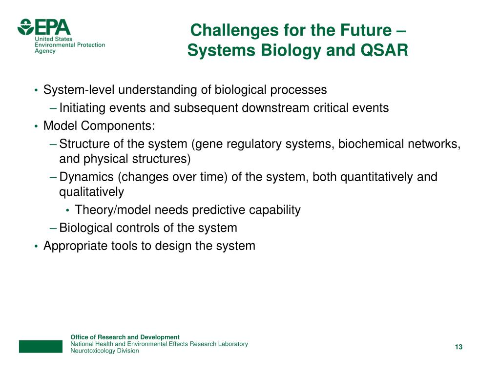 Challenges for the Future –
