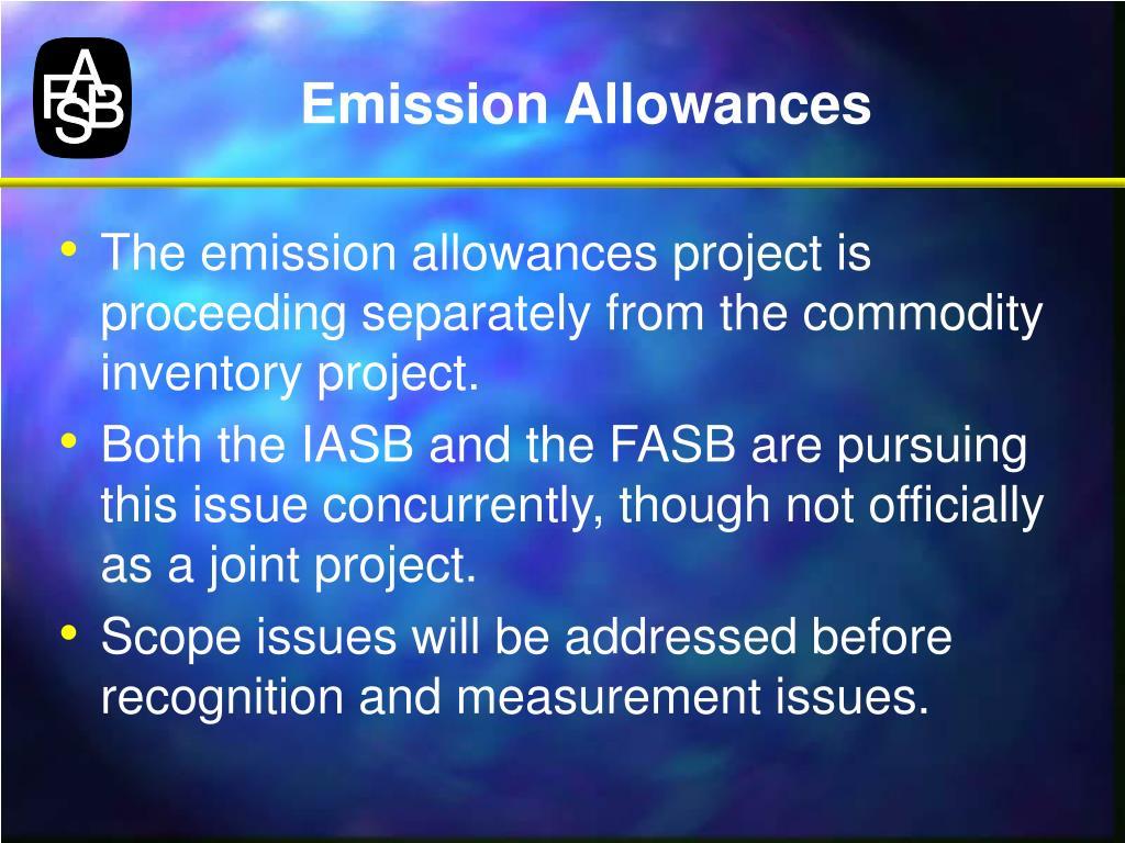 Emission Allowances