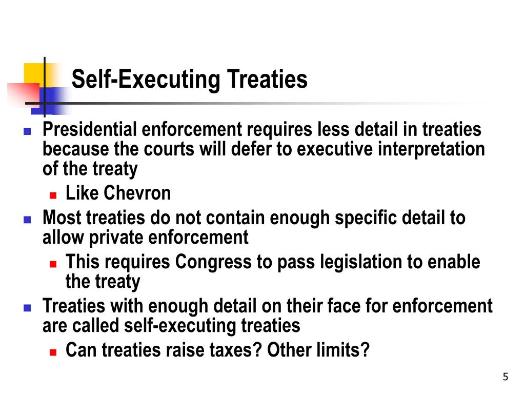 Self-Executing Treaties