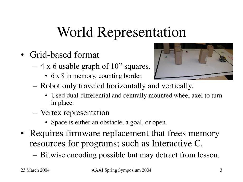 World Representation