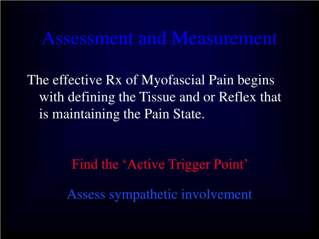 Assessment and Measurement