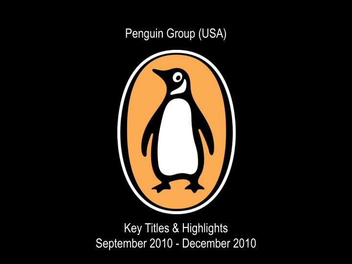 Penguin Group (USA)
