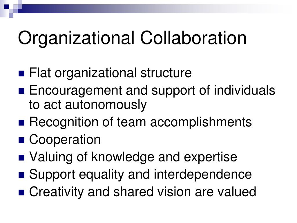 Organizational Collaboration