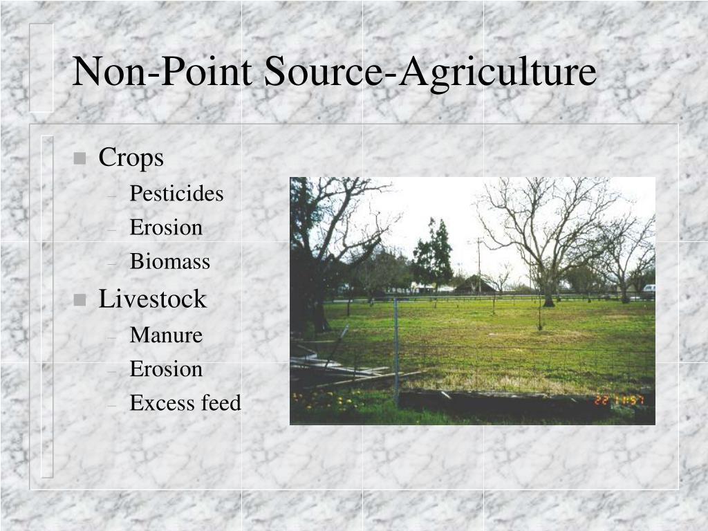 Non-Point Source-Agriculture