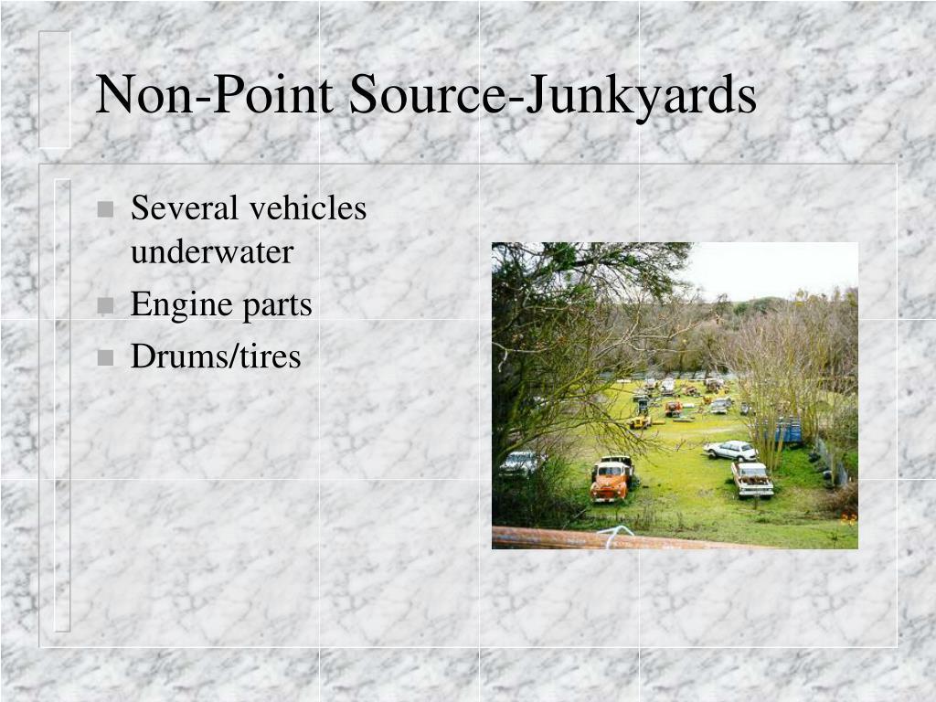 Non-Point Source-Junkyards