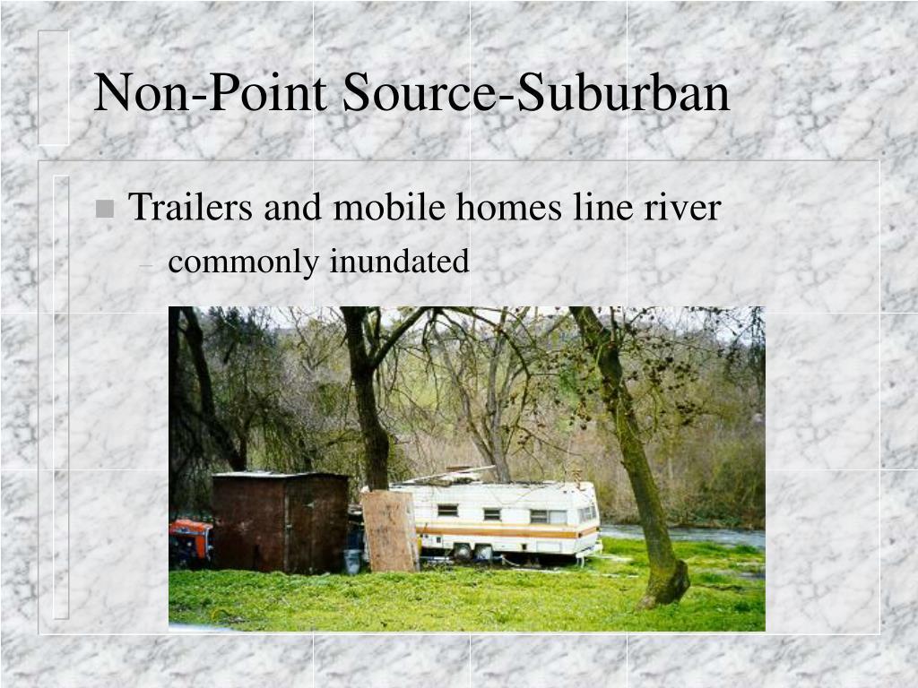 Non-Point Source-Suburban