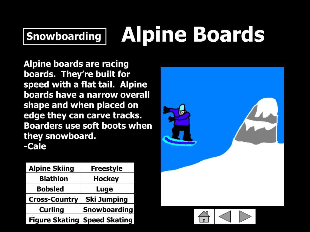 Alpine Boards