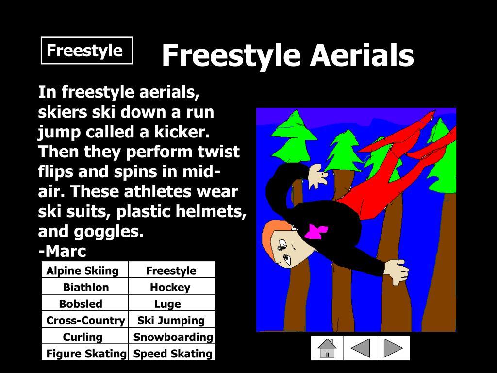 Freestyle Aerials
