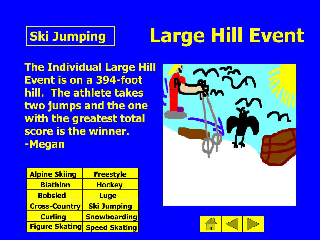 Large Hill Event
