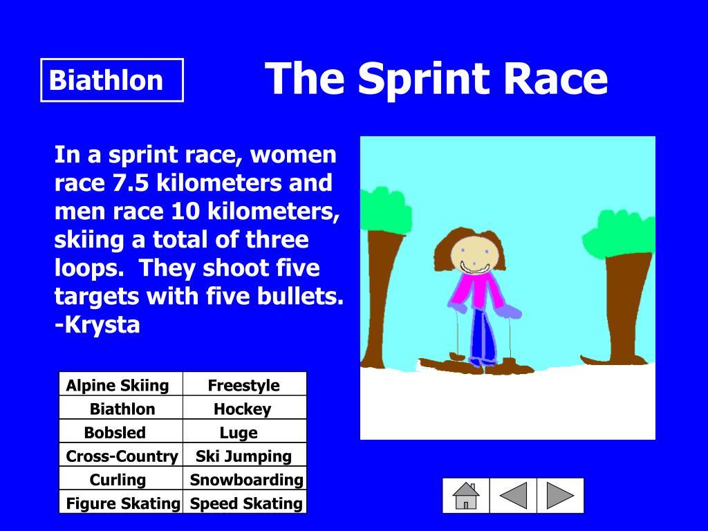 The Sprint Race