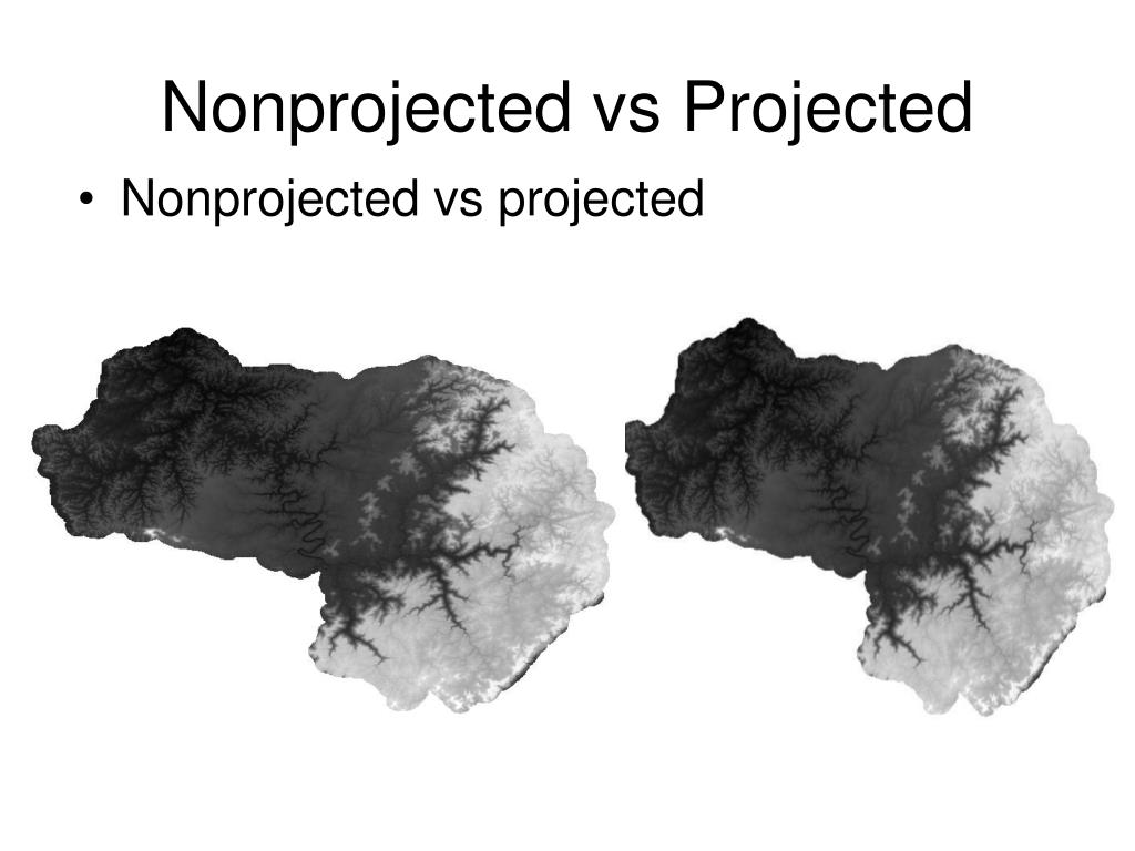 Nonprojected vs Projected