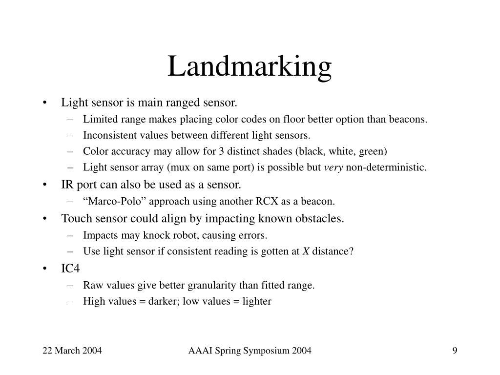 Landmarking
