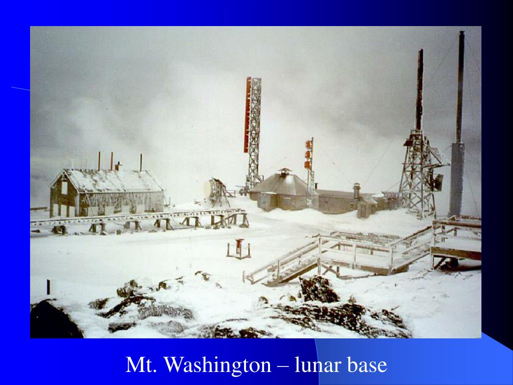 Mt. Washington – lunar base