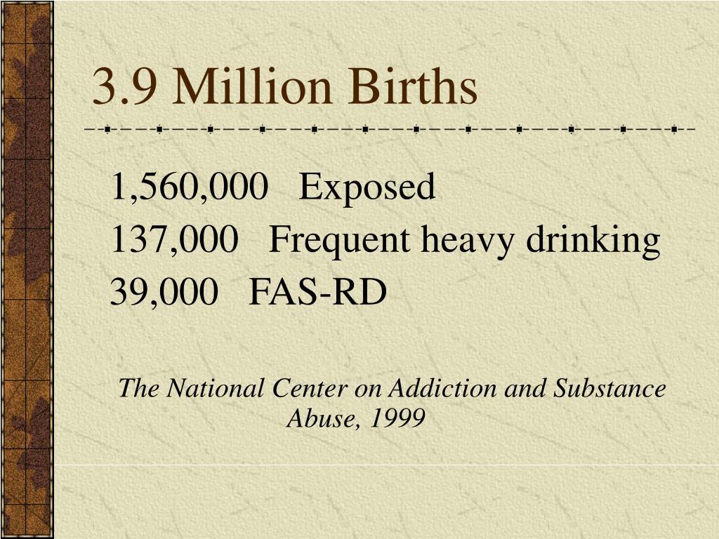 3.9 Million Births