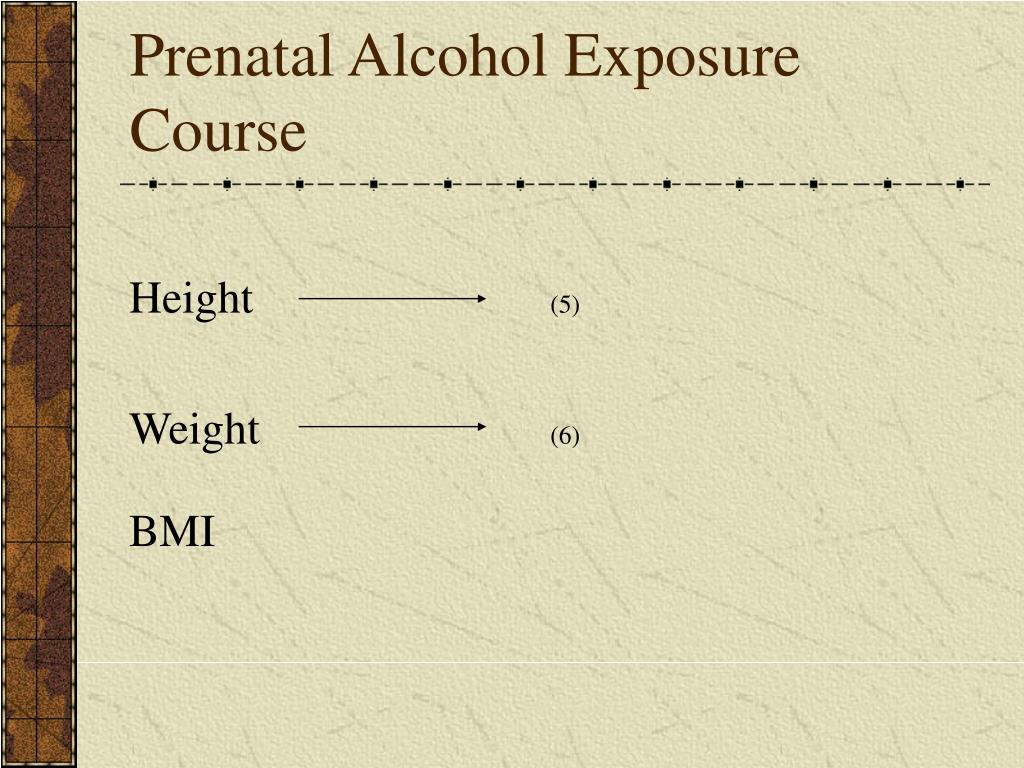 Prenatal Alcohol Exposure