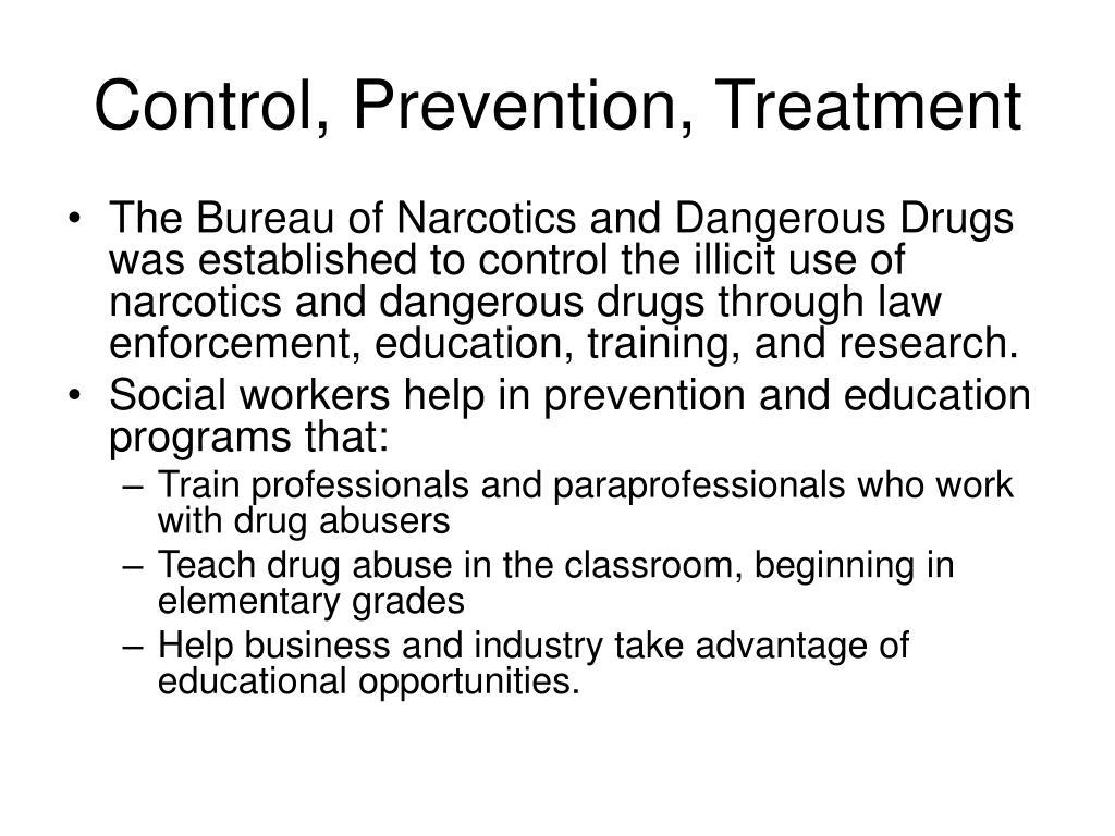 Control, Prevention, Treatment