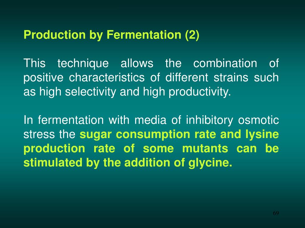 Production by Fermentation (2)