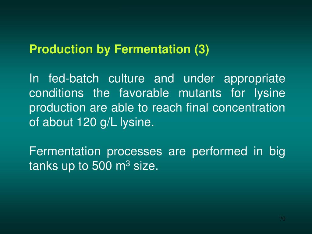Production by Fermentation (3)