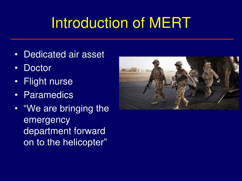 Introduction of MERT