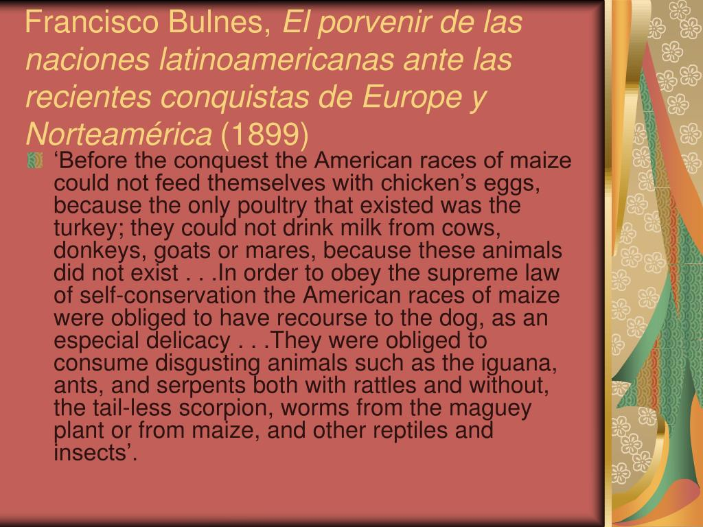 Francisco Bulnes,
