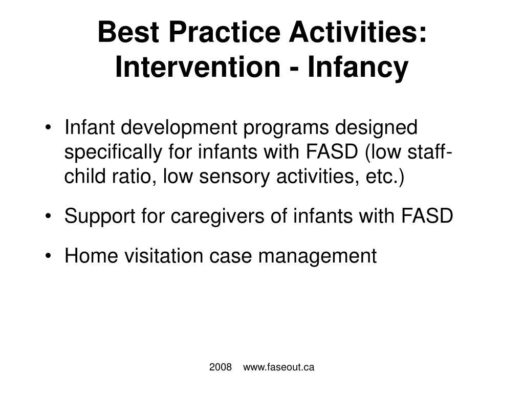 Best Practice Activities: