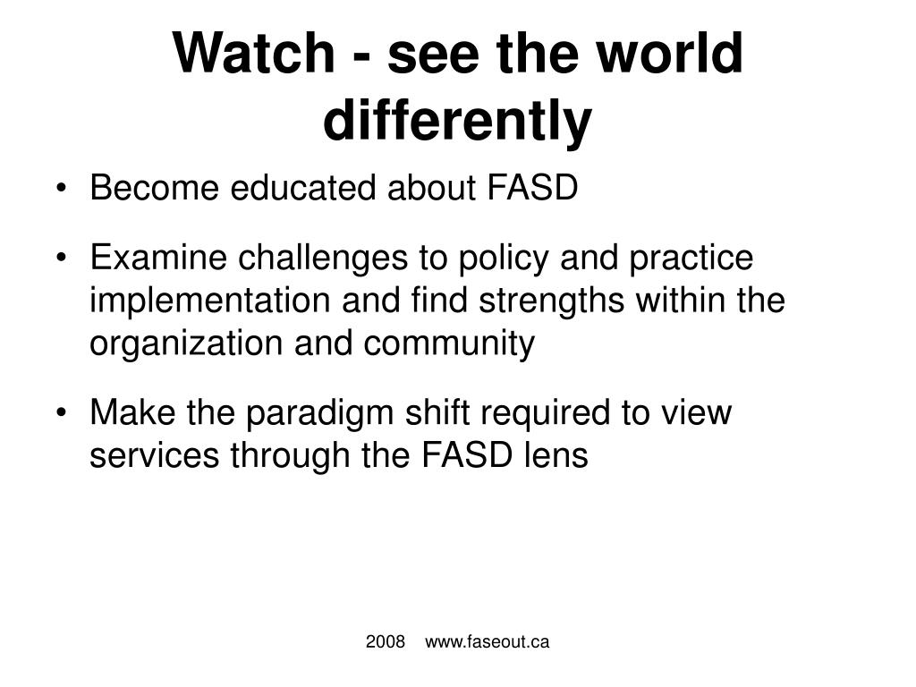 Watch - see the world differently