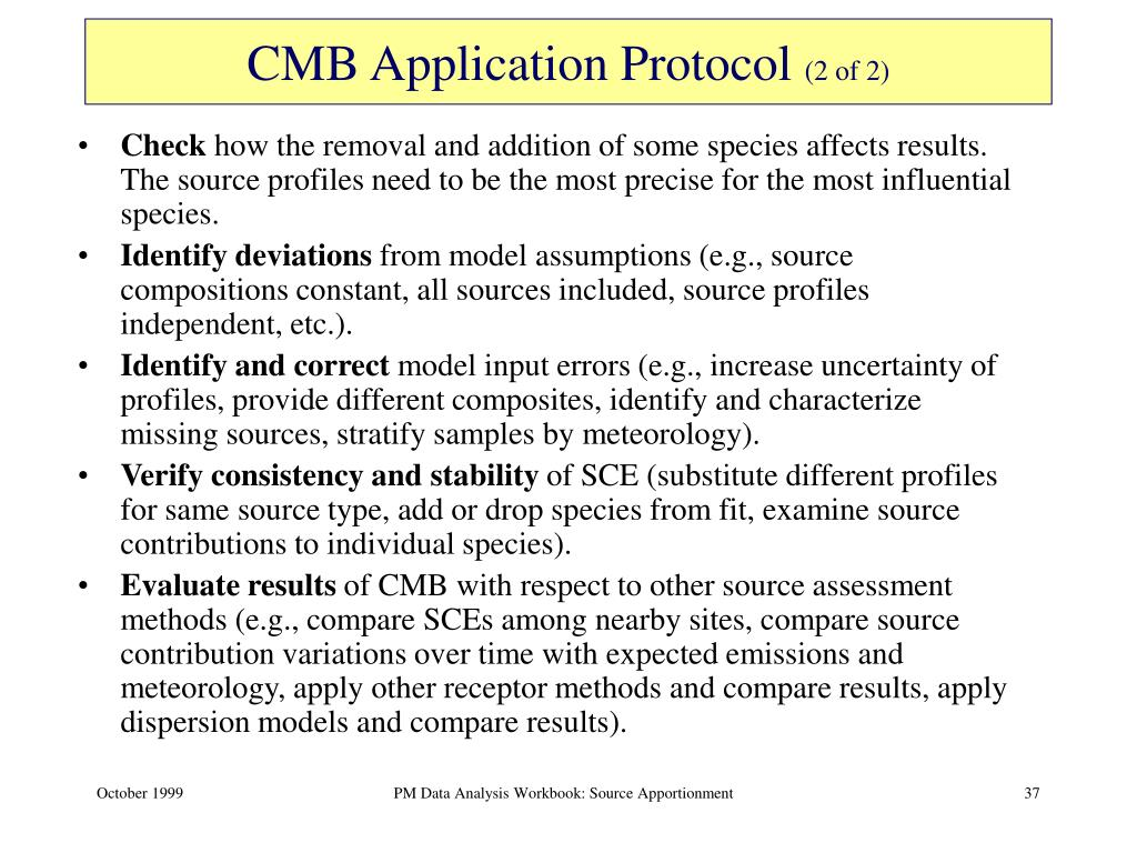 CMB Application Protocol
