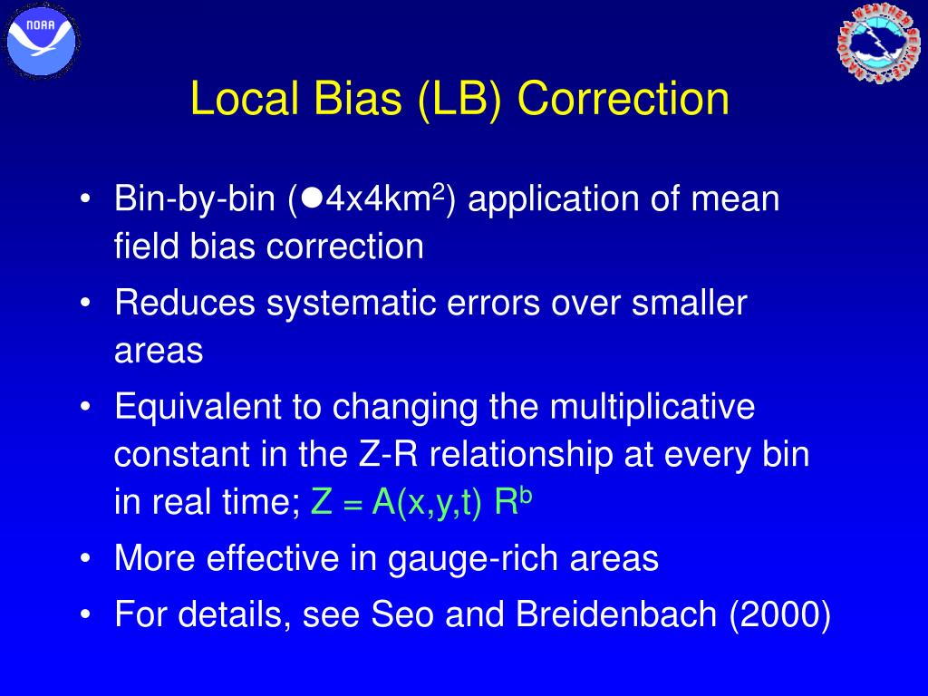 Local Bias (LB) Correction