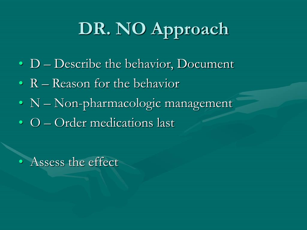 DR. NO Approach