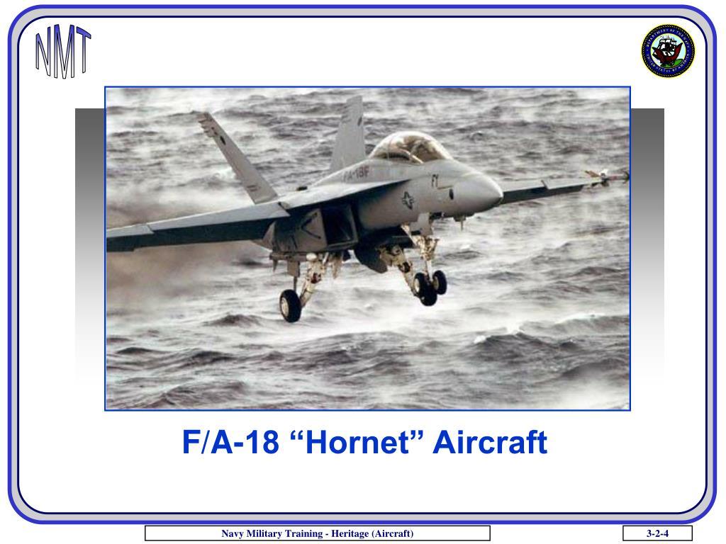 """F/A-18 """"Hornet"""" Aircraft"""