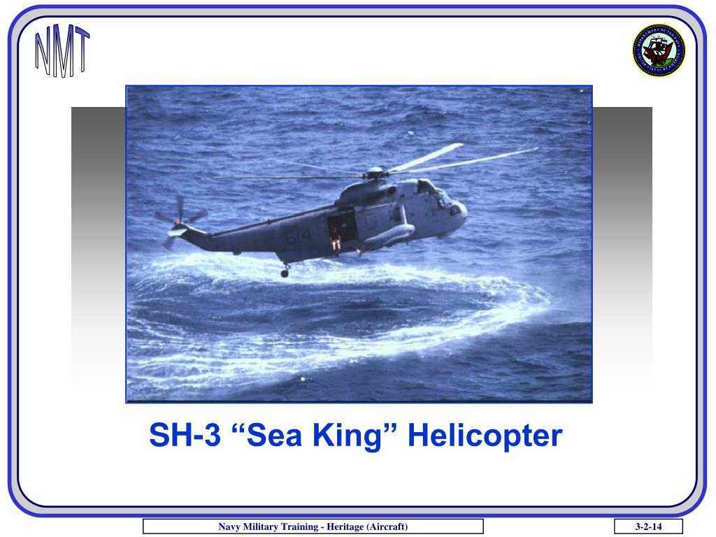 "SH-3 ""Sea King"" Helicopter"