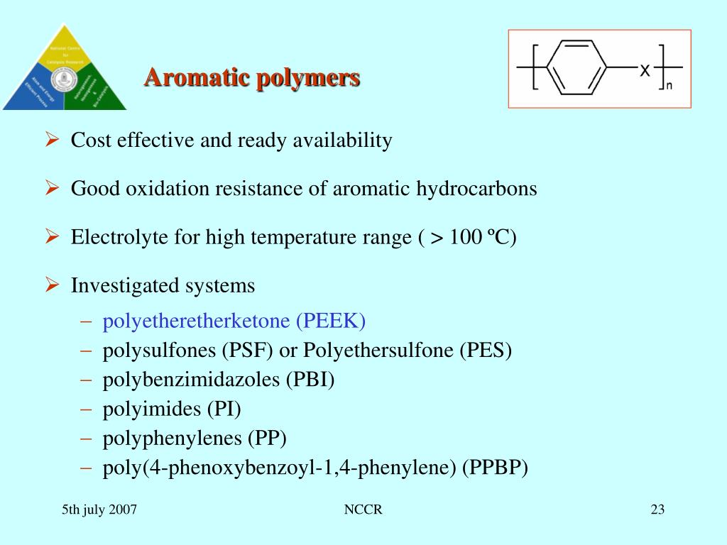 Aromatic polymers