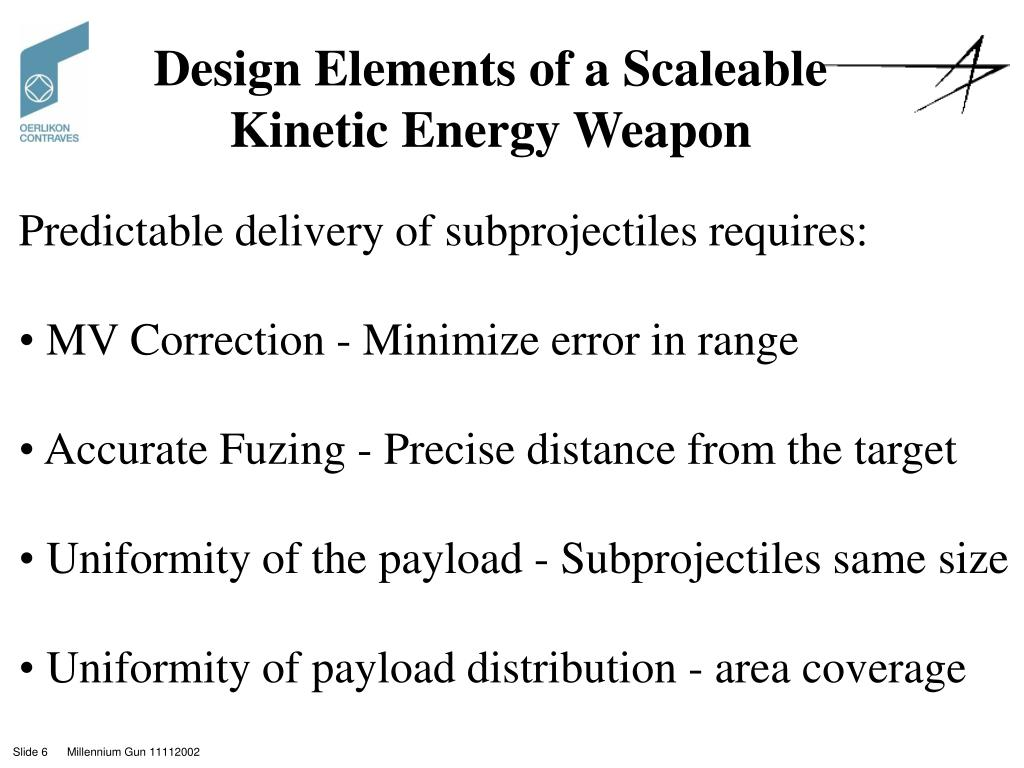 Design Elements of a Scaleable